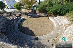 Ancient Odeion of Thassos - www.thassos-view.com