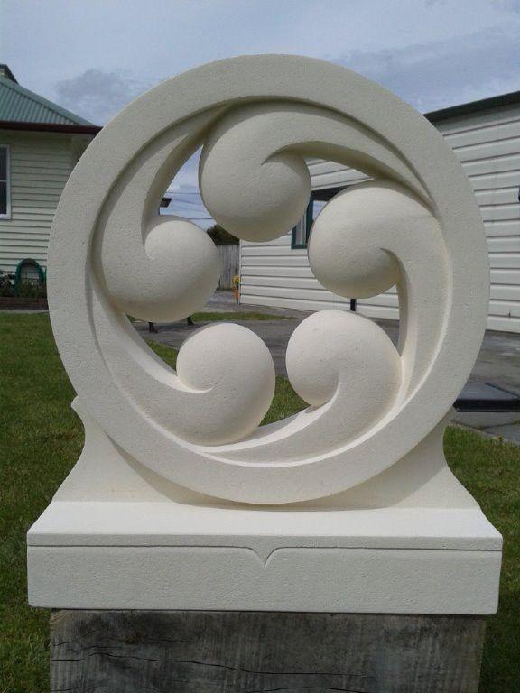 Look through our sculpture, memorial and headstone galleries. Brett specialises in Maori designs.