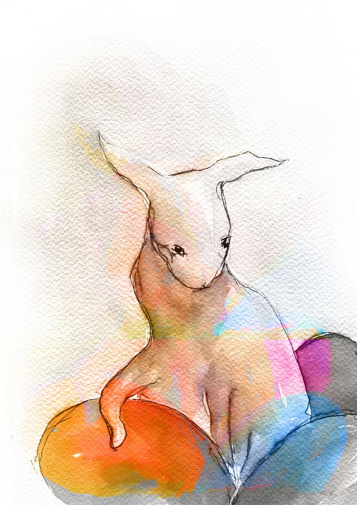 Story of The Easter Bunny, watercolor, created for Montessori scholar system, by Maria Janczak   ( www.facebook.com/maria.janczak.artist )