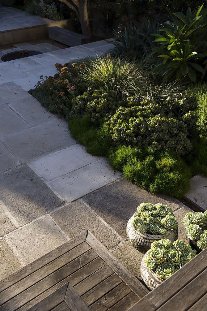 simple pavers and dense planting (Peter Fudge Gardens   Tempo da Delicadeza)