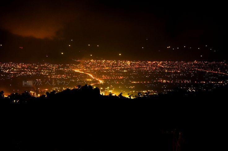 Padang City in the night...West Sumatera