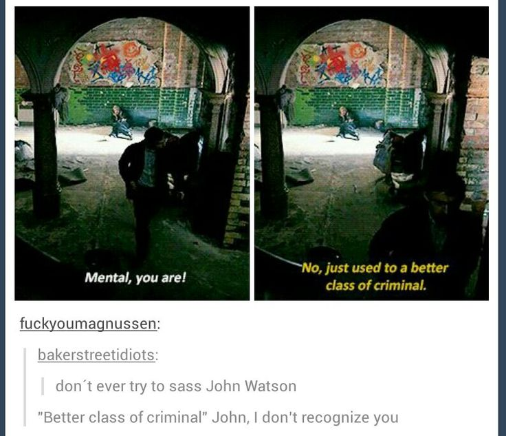 When John became Sherlock for the morning