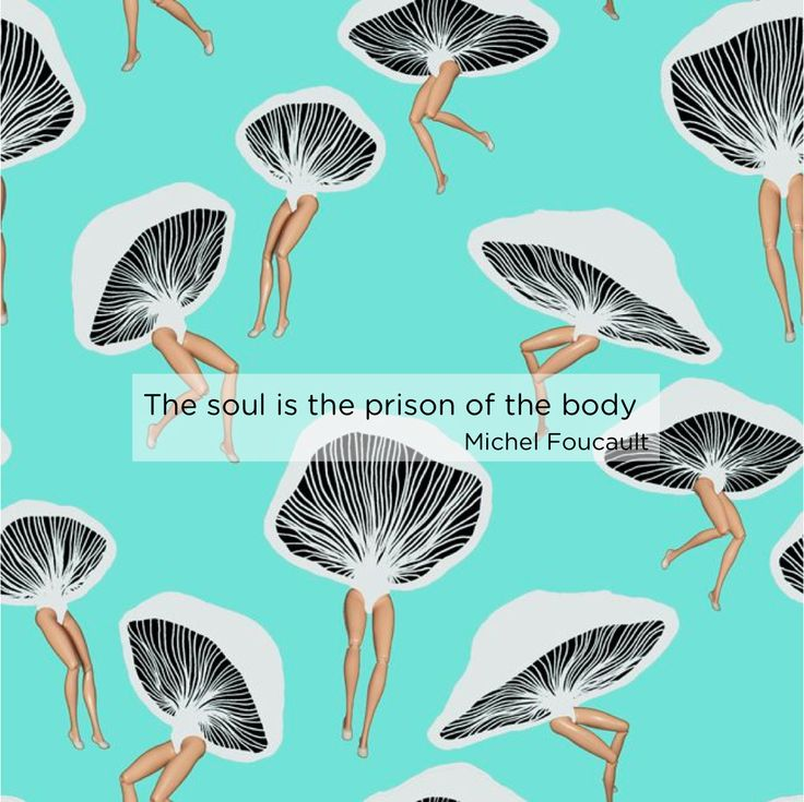 The soul is the prison of the body - Michel Foucault