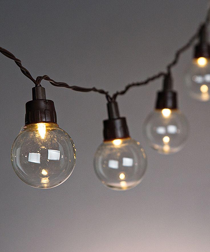 Solar LED Patio Light Set