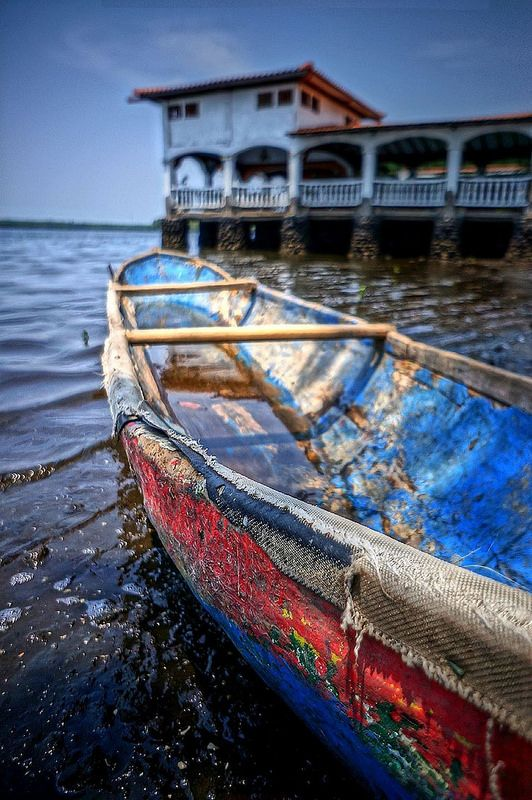 Boat, Leon, Nicaragua. Intensely political, buzzing with energy and, at times, drop-dead gorgeous (in a crumbling, colonial kind of way), León is what Managua should be.