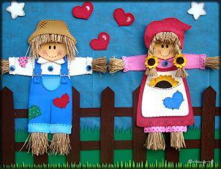 Aprender Brincando: Decoração Festa Junina - Painel de eva