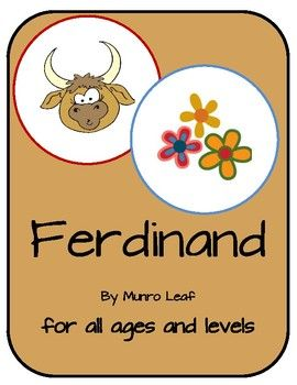 Ferdinand is beloved by all. He has gained popularity with the focus made by the movie The Blind Side. This activity bundle can be adapted to many grades and learning levels. The Story of Ferdinand is an excellent opportunity to connect literature, culture, Spanish, social studies, and character