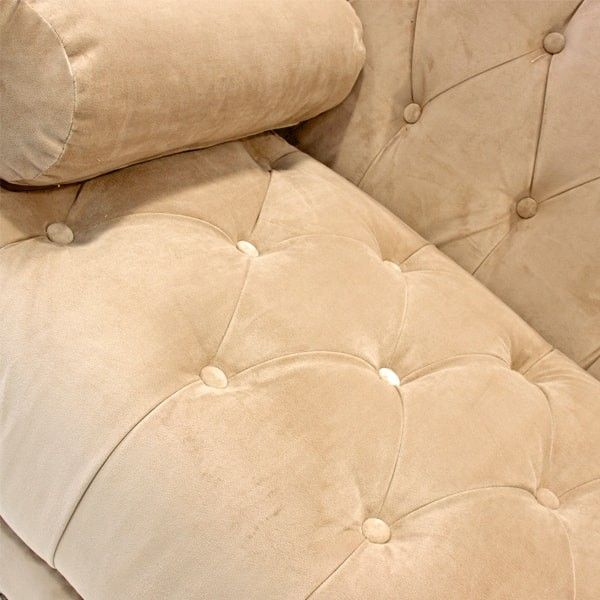 sofá Troyes dorado | Tiendas On