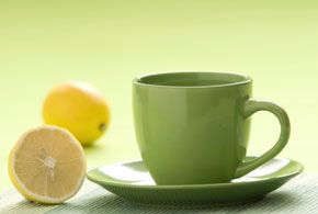 The Benefits of Green Tea and Lemon Juice...how adding lemon to your green tea makes the cancer fighting catechins in the tea five times more effective!