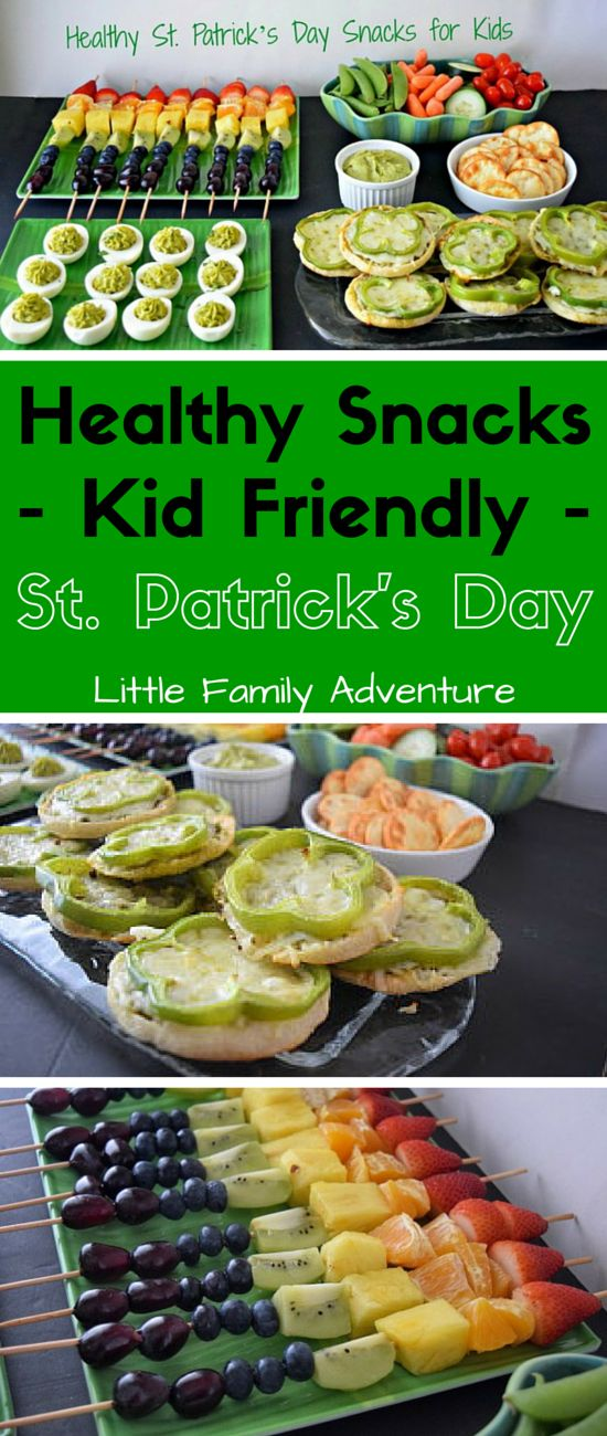 Healthy St. Patrick's Day Snacks – Get Kids Excited About Green