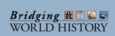 Bridging World History is organized into 26 thematic units along a chronological thread. Materials include videos, an audio glossary and a thematically-organized interactive.