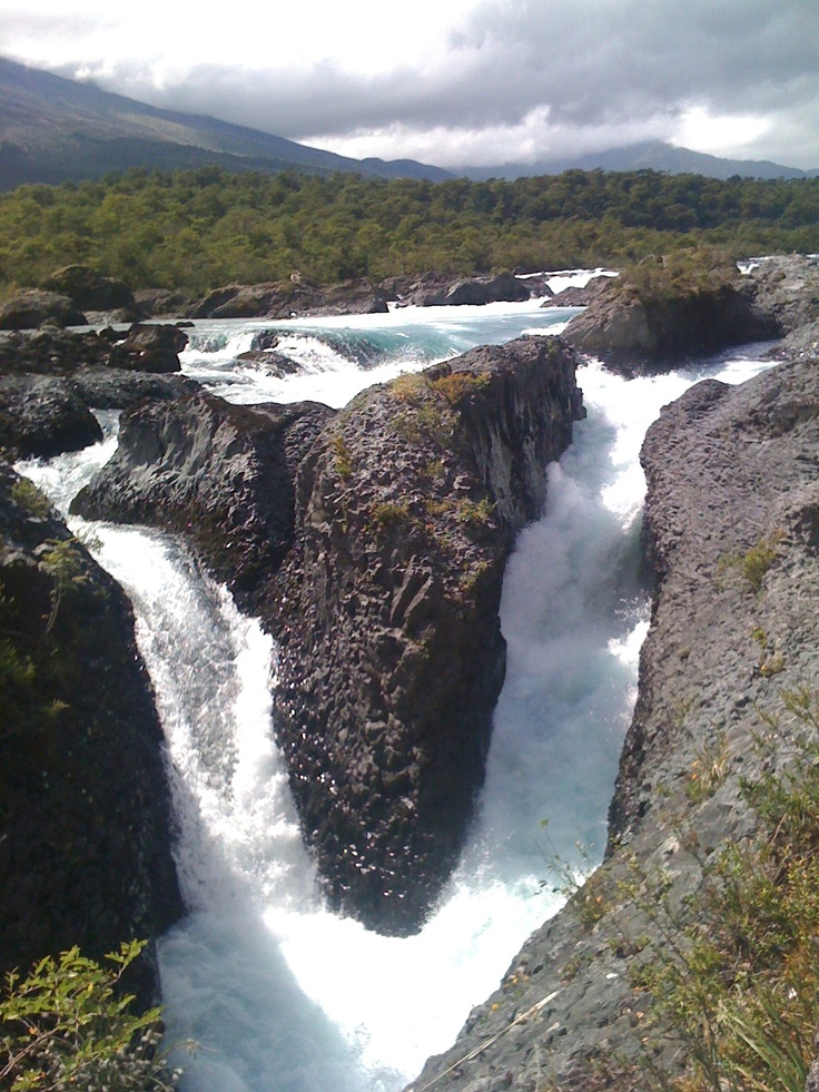 Saltos del Petrohué - P.N Vicente Pérez Rosales 12'