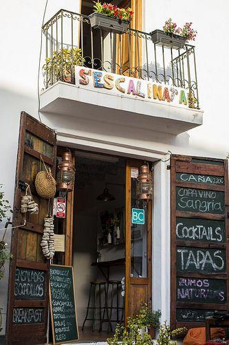 S'Escalinata, Ibiza bar  café