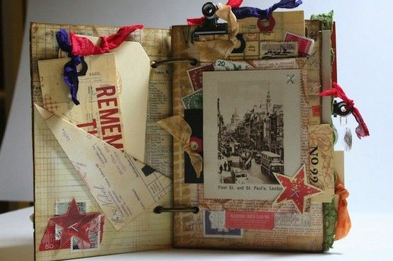 altered book by Ladybumblebee