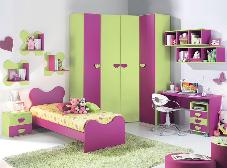 Contemporary Kids Bedroom VV Composition G055 - $5,150.00