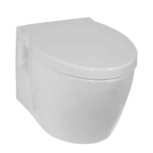 Nameeks 5384-003-0075 Vitra Wall Mounted Round Toilet Bowl Only