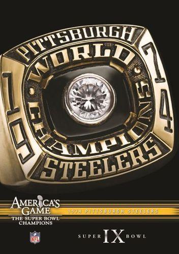 NFL: America's Game - 1974 Pittsburgh Steelers - Super Bowl IX [DVD]
