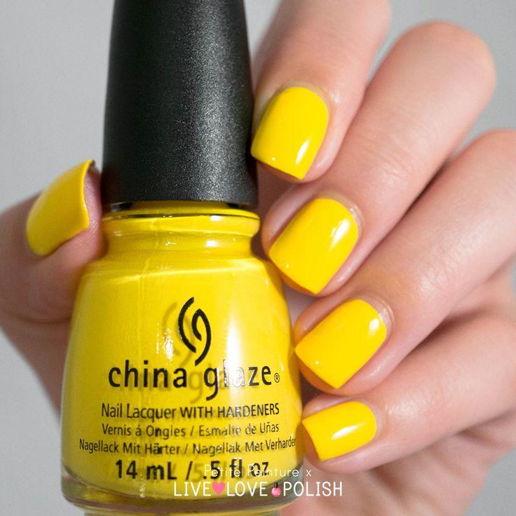 Nail Polish Goes Yellow: 96 Best Petite Peinture: Nail Polish Swatches Images On