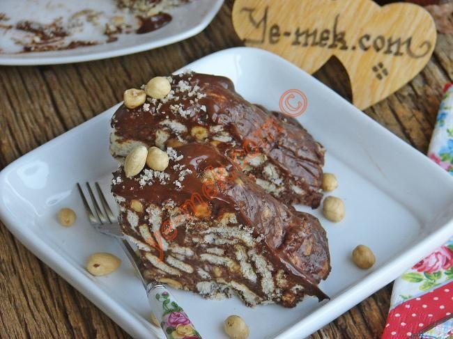 Pudingli Mozaik Pasta Resimli Tarifi - Yemek Tarifleri