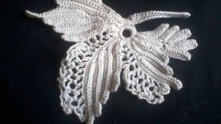 irish crochet - YouTube