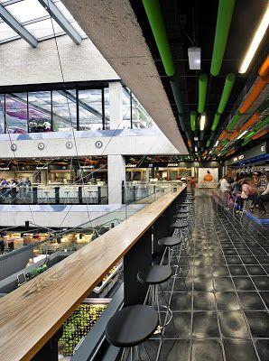architecture Zero: OPEN TO SKY MADRID / NEW MARKET IN SAN ANTON Chueca district of QVE ARCHITECTS