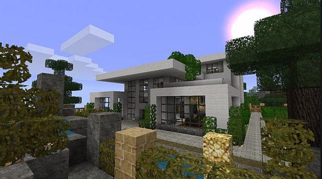 Super Plus de 25 idées uniques dans la catégorie Minecraft modern house  QD23