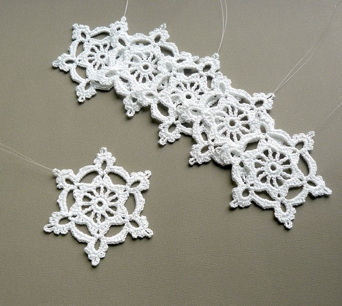 66 Crochet Snowflake Patterns The Funky Stitch