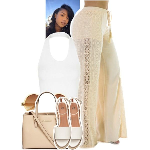 A fashion look from July 2016 featuring Topshop tops, Essie pants and Michael Kors tote bags. Browse and shop related looks.