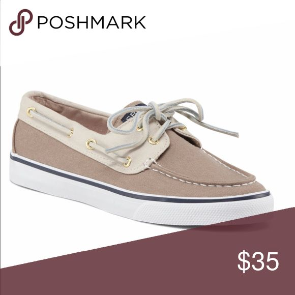 Cream and white Sperry top-sider size 8 chic boat Cream and white Sperry size 8 chic boat shoe worn for three hours lol great condition Sperry Top-Sider Shoes Flats & Loafers