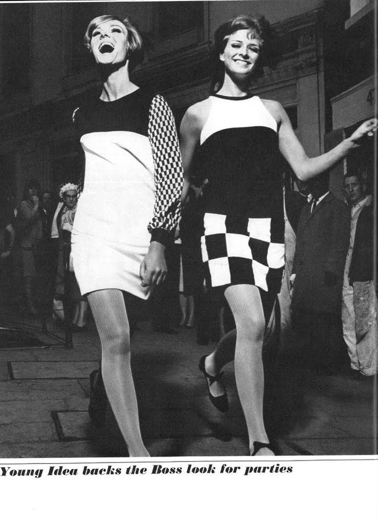 1960 39 S Mod Fashion Mod Fashion Pinterest The 1960s Men And Women And Geometric Shapes