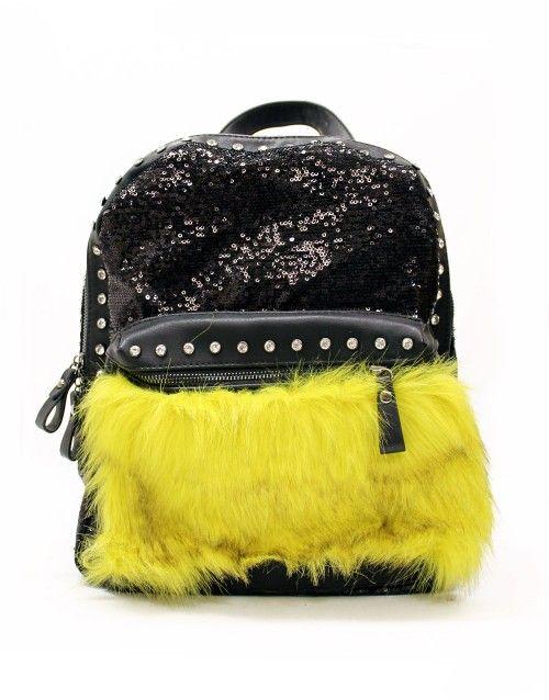 Τσάντα σακίδιο πλάτης - Κίτρινο 34,99 €