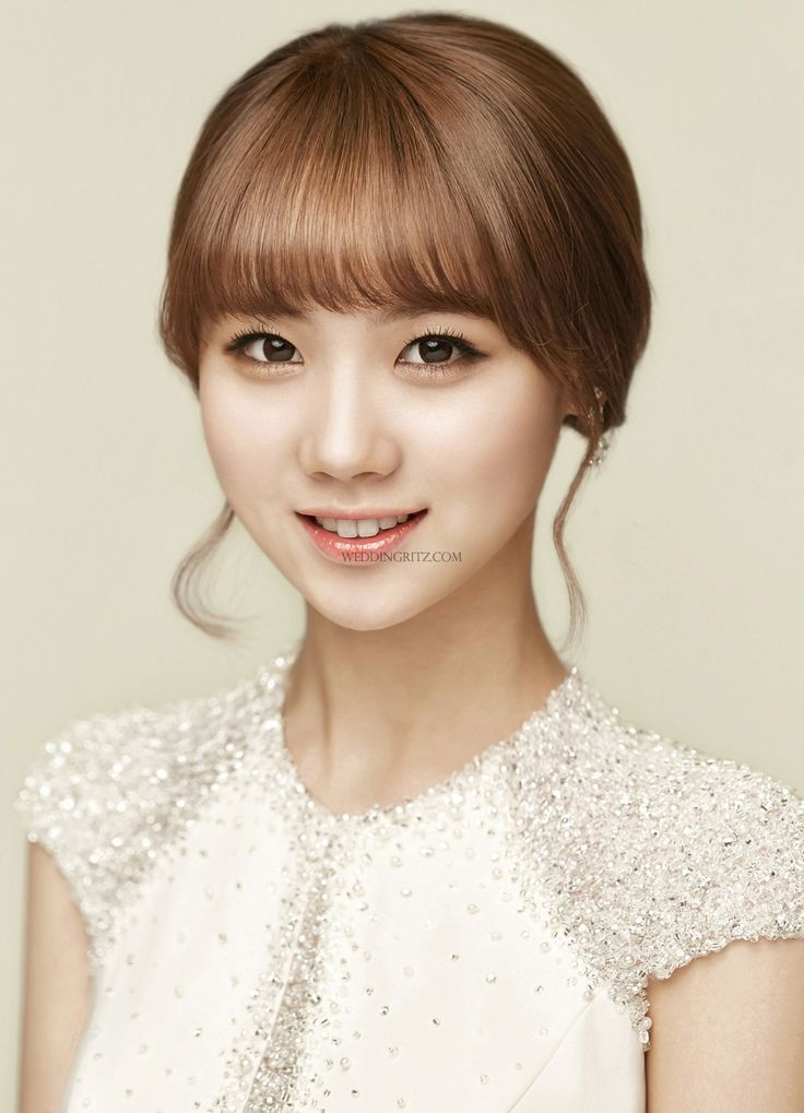Sample Wedding Makeup : 134 best images about Korean Bridal Hair and Makeup on ...