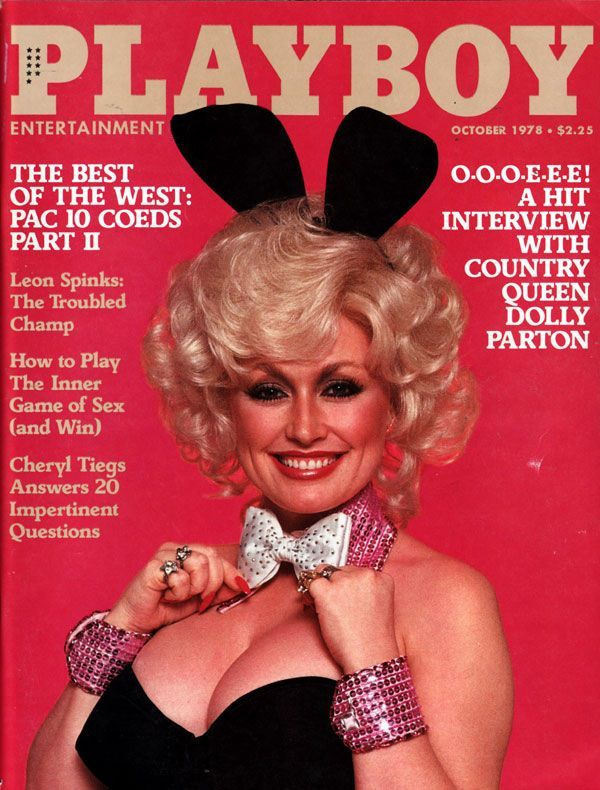 Dolly Parton - Playboy Magazine [United States] (October 1978) La casa más divertida de Texas I