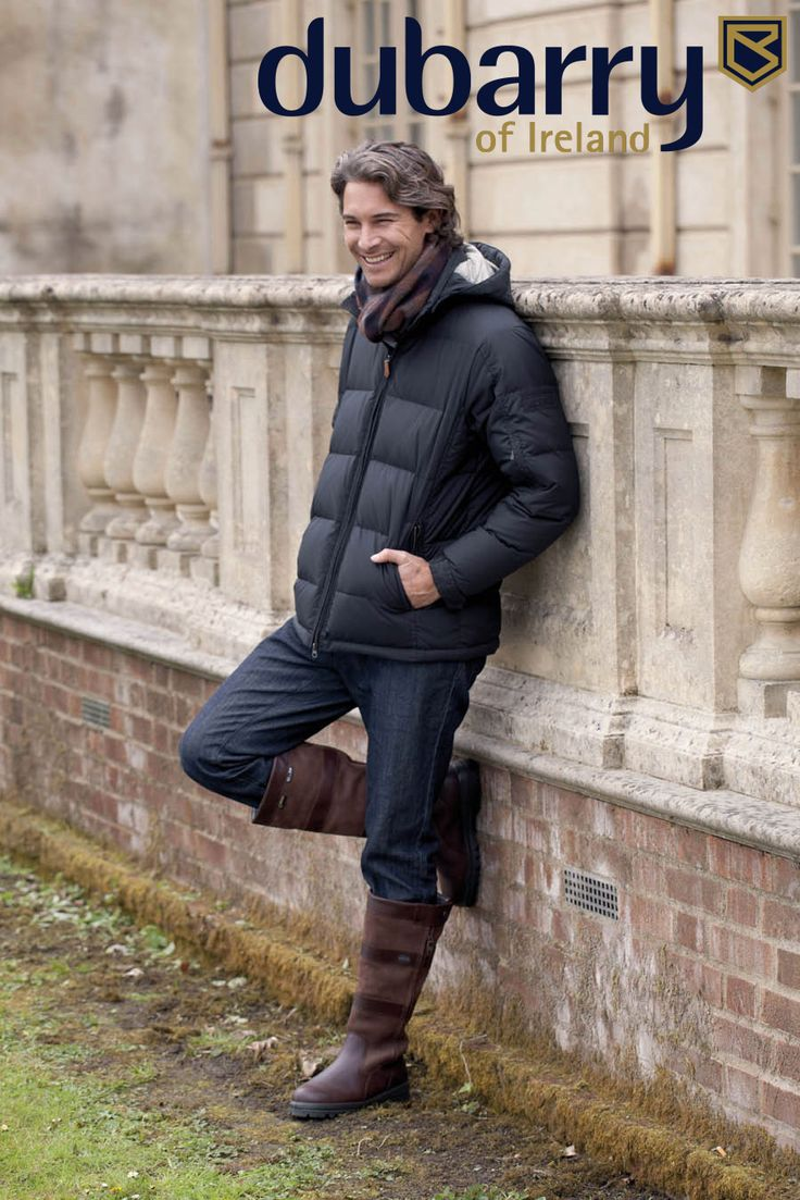 How does he look so cool but stay so warm? Dubarry Men's