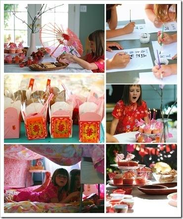 Idées de fête d'anniversaire asiatique