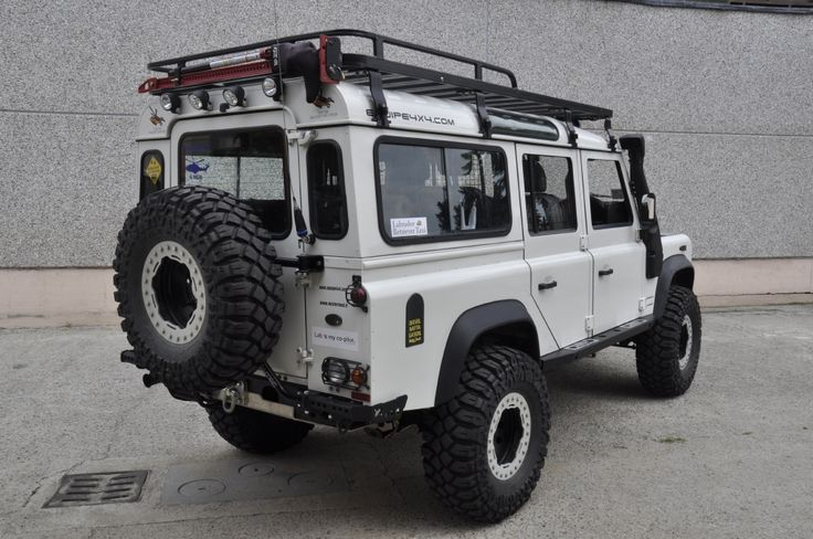 #DEFENDER 110 TD4 ICELAND - Equipe 4x4 off road equipment