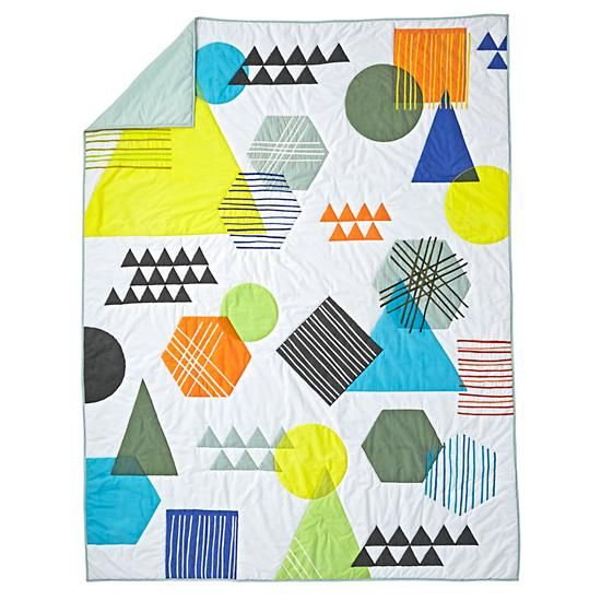 Creature Comfort Quilt (Twin)  | The Land of Nod