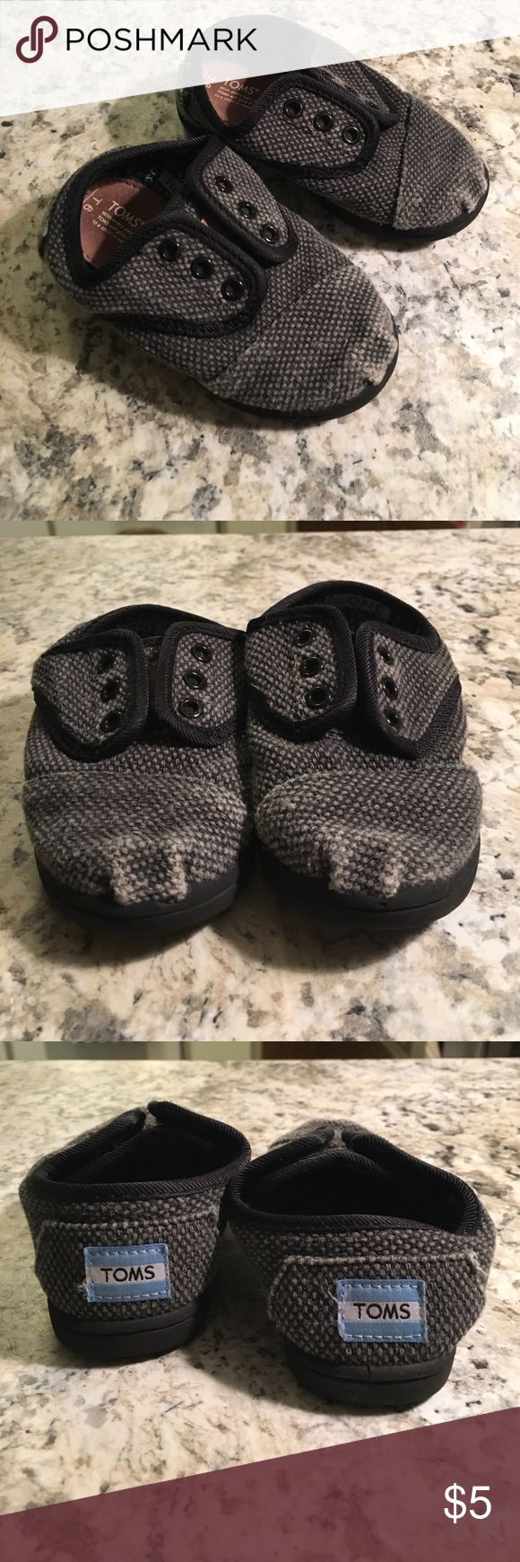 Toddler toms Marks by toes but still good shape 6 TOMS Shoes