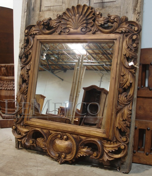 custom spanish style furniture. this custom carved spanish style mirror one word comes to mind no furniture