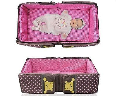 Mummy-Bag-folding-portable-Crib-children-bed-baby-sleeping-box