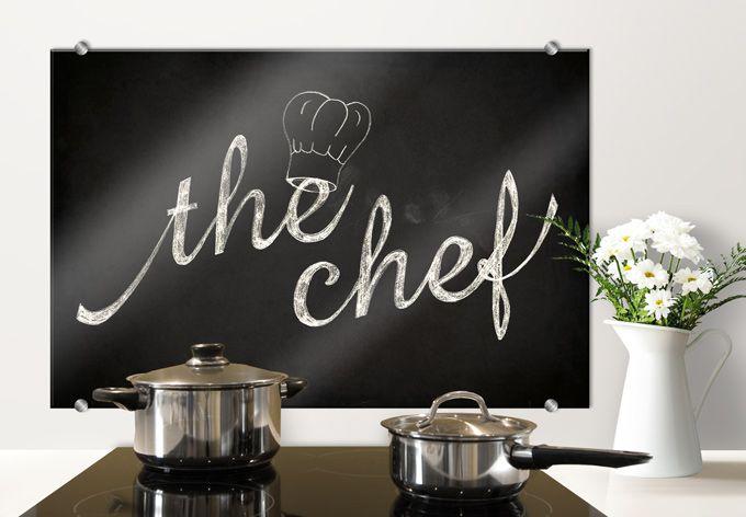 Spatscherm The Chef