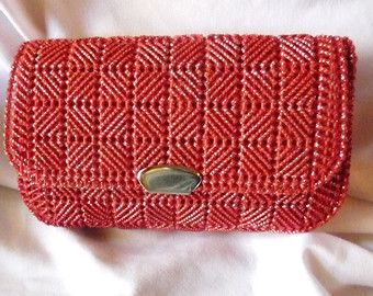 Plastic Canvas Clutch — Crafthubs
