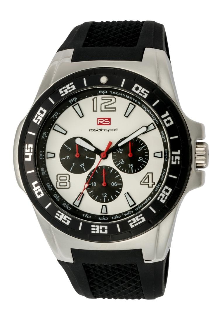Reloj RS Multifunción, con caja de acero, correa de silicona y resistente al agua (5 ATM): antes 99€ y ahora 79€  Ref. 80.511.020.2