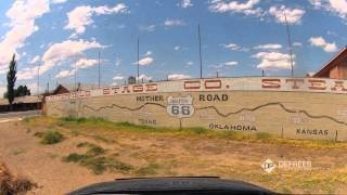 Timelapse video of Route 66 cultural landscapes