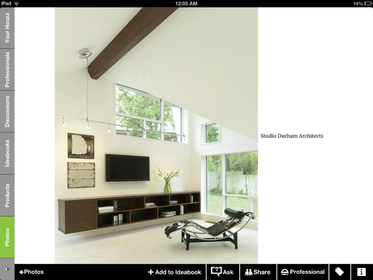By Houzz Tv Unit