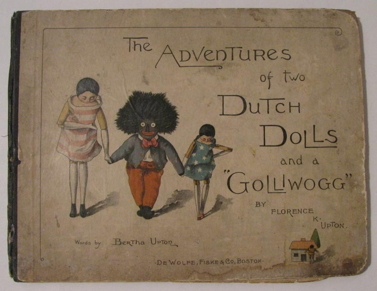 gollywogs and two dutch dolls
