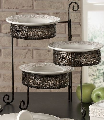 22 Best Images About 3 Tiered Trays On Pinterest