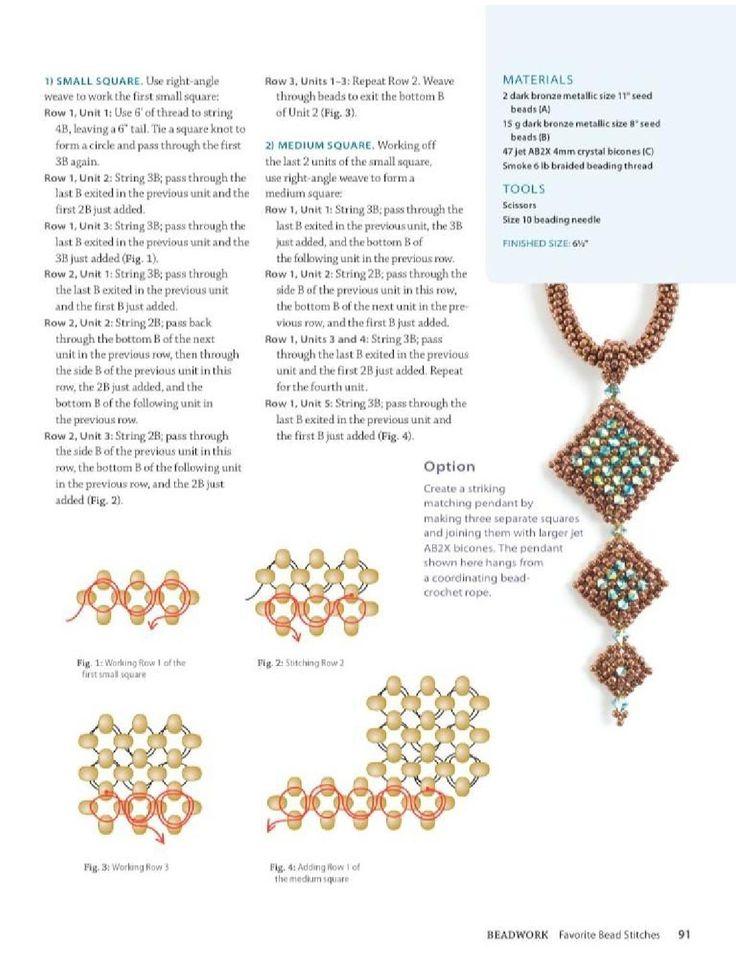 Beadwork Magazine Favorite Bead Stitches 2012 by BeadworkBrasil