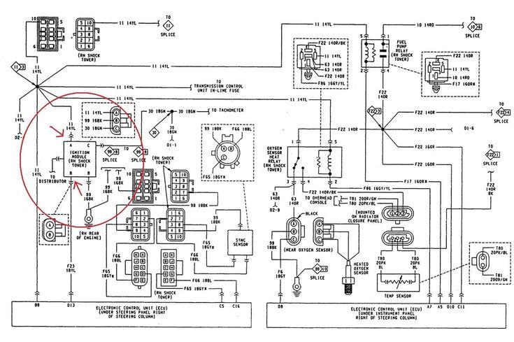 1990 Jeep Yj Vacuum Diagram 1990 Jeep Wrangler 4.2 Vacuum