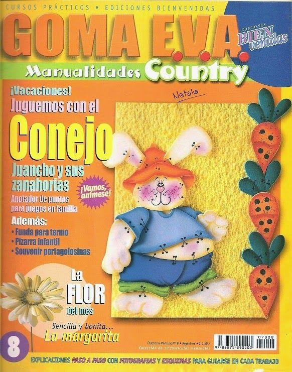 12 revistas de goma eva gratis